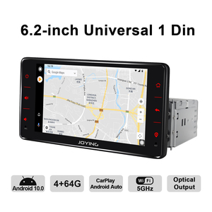 Image 4 - Android 10 head unit car radio 6.2 inch 4GB+64GB support 4G&Carplay&Android auto&Fast Boot audio RDS video GPS Navigation 5G WIF