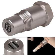 Adaptador de eliminación de luz del motor para coche, Sensor de oxígeno O2 de alta calidad, duradero, para comprobar la luz del motor, M18X1.5, envío rápido al por mayor