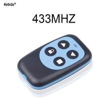 Kebidu – télécommande RF 433 MHz, copie 4 canaux, copieur, contrôleur longue Distance pour porte de Garage électrique
