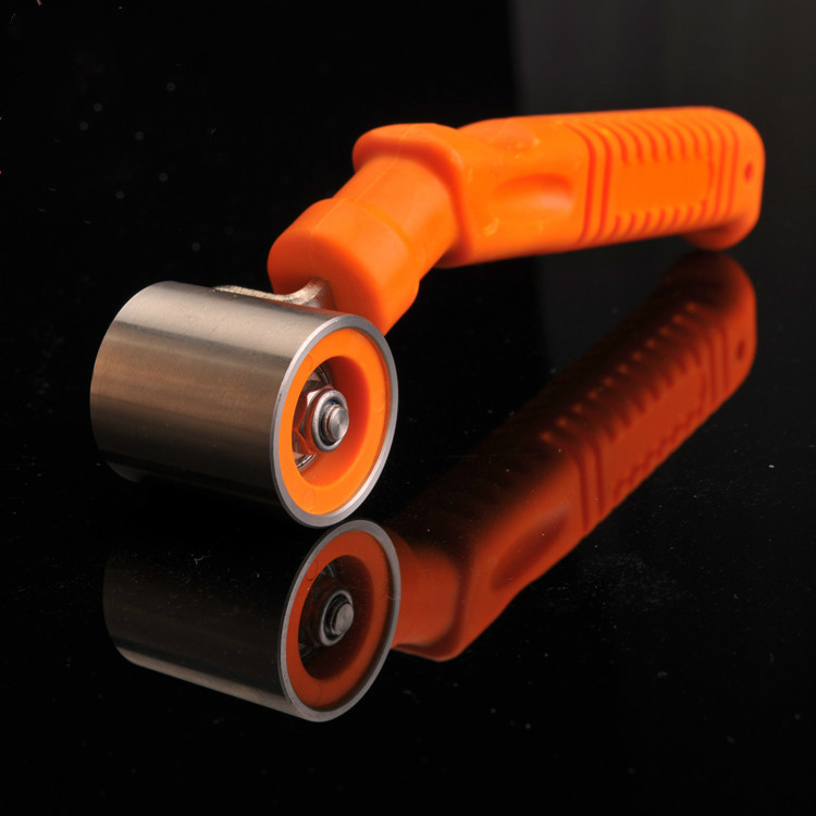 Home Bedroom Wallpaper Wall Busch Tool Stainless Steel Bearing Seam Pressure Rolling Wheel Professional Household Roll Wheel