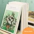 120 листов утепленные бежевый Бумага книга набросков модных костюмов для учащихся искусство рисования акварель книга блокнот граффити школ...