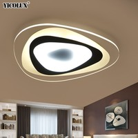 Ультратонкая поверхность монтируется современная светодиодная потолочная люстра для гостиной спальни люстры де Сала