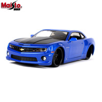 Maisto 1:24 2010 Chevrolet Camaro SS RS Roadster simulation alloy car model simulation car decoration collection gift toy