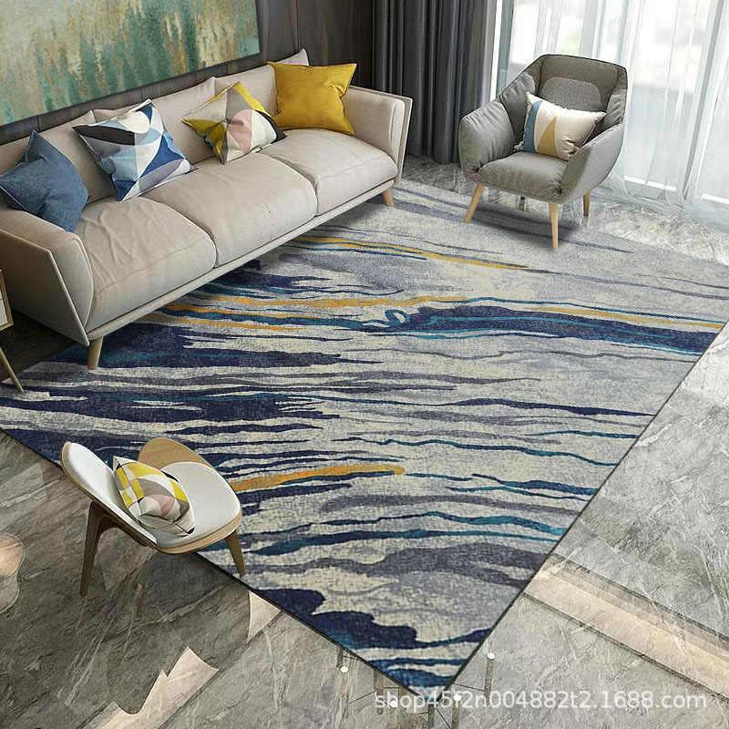 Alfombras blandas nórdicas para alfombras de sala de estar alfombra para el hogar alfombra de piso alfombras grandes para la puerta del piso de la sala de estar alfombras de área alfombrilla