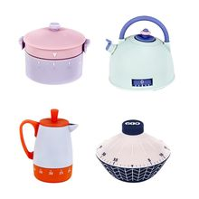 Cooking Timer Cute Reminder-Alarm Kitchenware-Shape Mechanical 60-Minutes Interval Loud