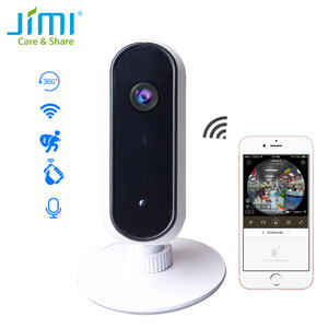 Jimi JH06P Newly 1080P Wireless Wifi IP Camera Fisheye Panoramic Camera Home Security Surveillance System Camera Baby Monitor