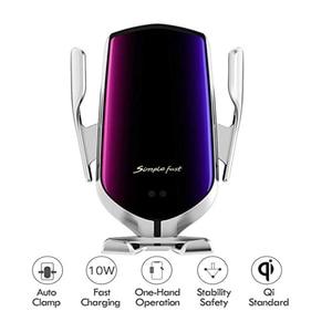 Image 2 - ワイヤレス車の充電器10ワットチー高速充電 クランプ車マウント空気ベント電話ホルダーすべてと互換性スマートフォン