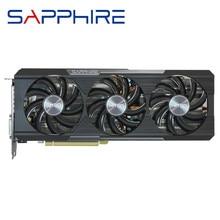 SAPPHIRE R9 390 4GB Grafikkarte AMD Radeon R9390 4GB Video Bildschirm Karten GPU Bord Desktop Computer PUBG spiel Karte VGA Grafik