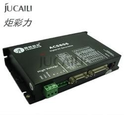 Jucaili เครื่องพิมพ์ 1 PC มอเตอร์ leadshine 400 วัตต์เซอร์โวมอเตอร์ไดร์เวอร์ ACS806 brushless 20-80V DC 6A สำหรับเครื่องพิมพ์...