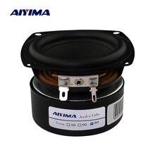 AIYIMA 2 шт. 3-дюймовый портативный аудио бас динамик 4 8 Ом 25 Вт домашний кинотеатр Hifi Стереодинамик сабвуфер, колонки s сабвуфер громкий динамик