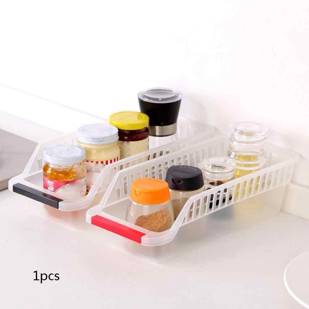 Cresta Eco-Friendly di Plastica Cestino Di Immagazzinaggio Cestino di Prodotti Alimentari Bevande Cassetto Scatola di Immagazzinaggio Tipo di Cucina Lavello Vario Smistamento Box Carrello