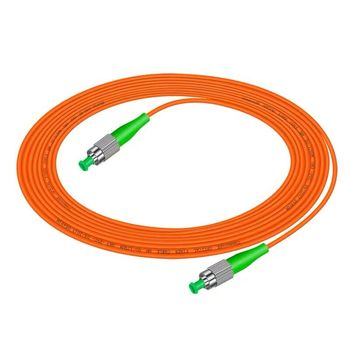 цена на 5pcs/lot FC/APC-FC/APC Simplex 3.0mm Multimode Fiber Optic Patch Cord free shipping