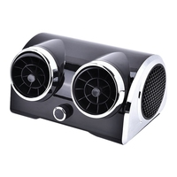12V New Car Bladeless Electric Car Cooling Fan Motor Cooling Portable Desktop Cooler For Vehicle Truck Rv Suv Boat Accessory|Fans & Kits|   -
