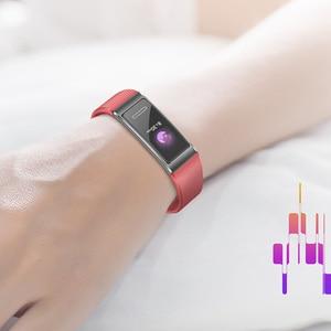 Image 3 - الأصلي هواوي باند 4 برو الذكية معصمه المدمج في تحديد المواقع تجريب التوجيه 24/7 ساعة معدل نبضات القلب متجر الوجه SpO2 الدم الأكسجين
