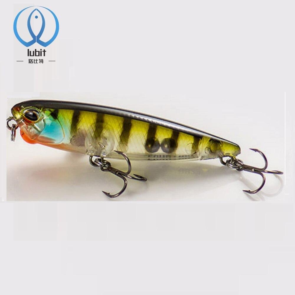 Lubit Realis карандаш 65 duo приманки для ловли рыбы, 65 мм 5,5g искусственная жесткая приманка плавающий стикбейт Бас снасти для ловли форели