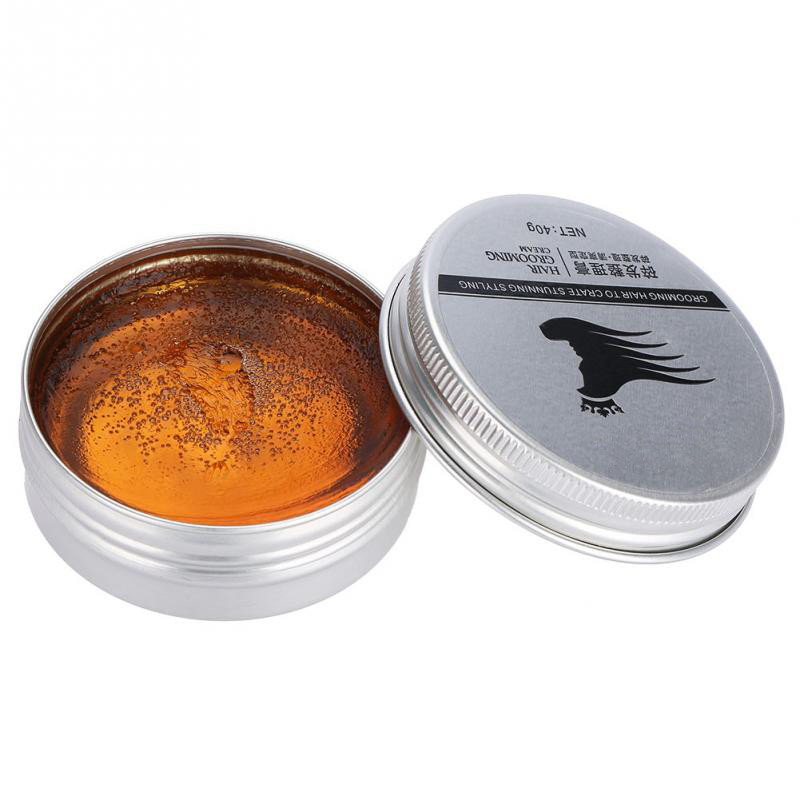 Hot Natural Hair Clay Wax Water Based Long-last Fluffy hair Styling Pomade Modeling For Men Women Hairstyles Gel