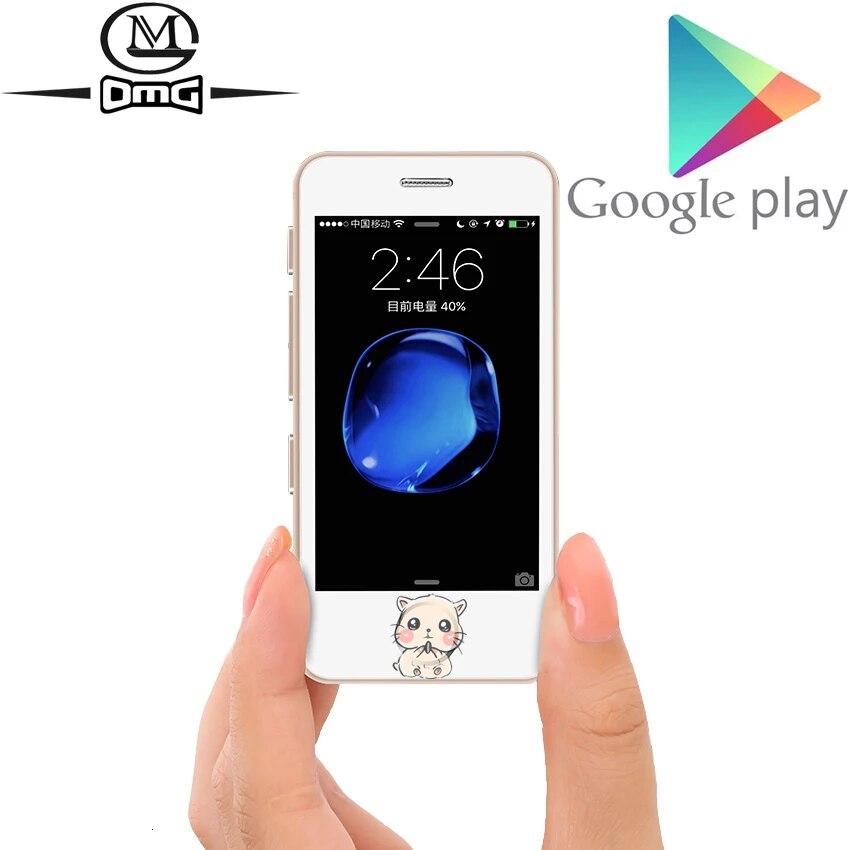 Небольшие мини-смартфоны Android, недорогой новый разблокированный сотовый телефон, Четырехъядерные мобильные телефоны с поддержкой Google Play L3
