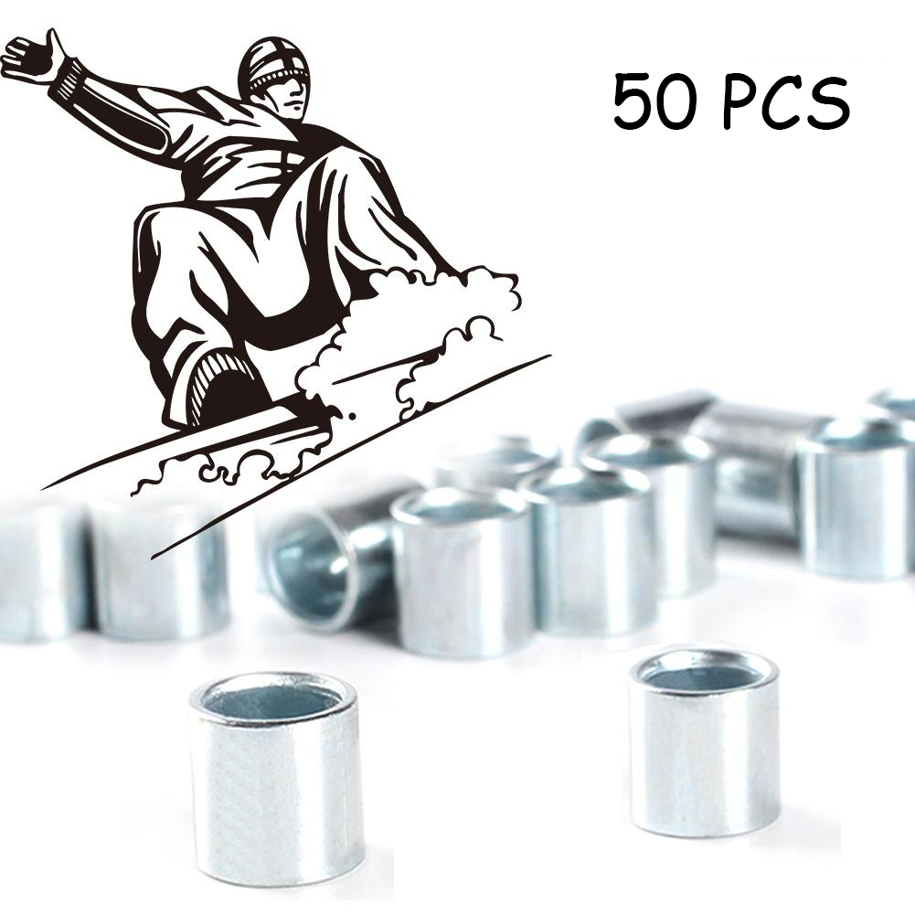 50pcs Bearing Cover Accessory Sports Toy Outdoor 4 Wheel Skateboard Metal Replacement Protection Increase Speed Wear Resistant