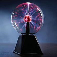 Bola de cristal magia plasma bola luz da lâmpada elétrica noite luz 4 5 6 8 Polegada luzes de mesa esfera natal crianças presente lâmpada vidro