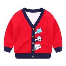 Джо & mi 2020 Осенняя детская одежда свитер для мальчиков детский