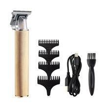Машинка для стрижки волос профессиональный триммер бороды 0