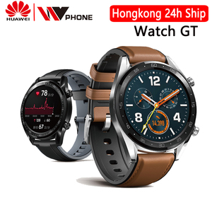 Image 1 - Huawei Watch GT Smart watch water proof Phone Call Support GPS Heart Rate Tracker For Android iOS
