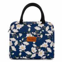Marca Winmax, bolsa de aislamiento portátil con estampado Floral, bolsas térmicas para comida fresca, bolsa de hielo para mujeres y niños, nueva bolsa de vino, bolsa nevera