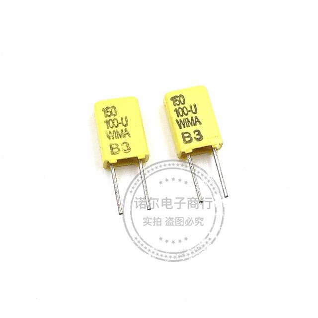20 pièces NOUVEAU jaune WIMA FKC02 150pF/100V P2.5MM audio film condensateur fkc 02 151/100v FKC2 100V 150PF 100V151