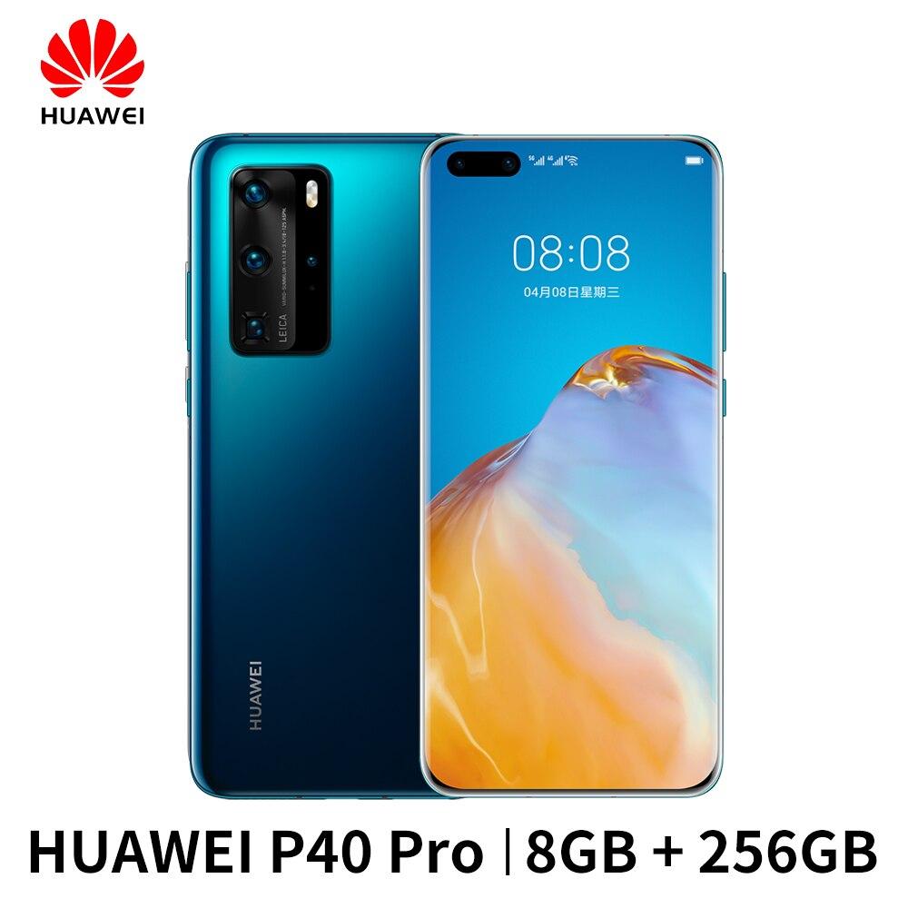 Huawei P40 Pro Smartphone | 50MP Leica Supersensing Camera | 8Gb + 256Gb | Kirin 990 5G L Wereldwijde [Eu] Versie