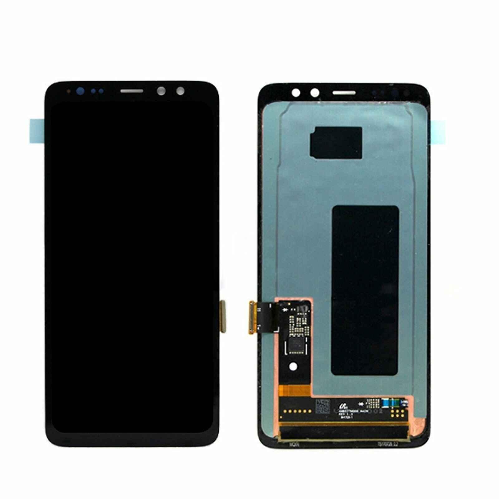 شاشة الكريستال السائل محول الأرقام بشاشة تعمل بلمس الهاتف المحمول تجديد استبدال إصلاح أجزاء ل samsung galaxy s8 نشط g892