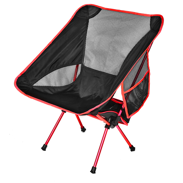 ירח כיסא כיס נייד מתקפל דיג קמפינג מתקפל הליכה ממושכת מושב גן Ultralight משרד בית ריהוט