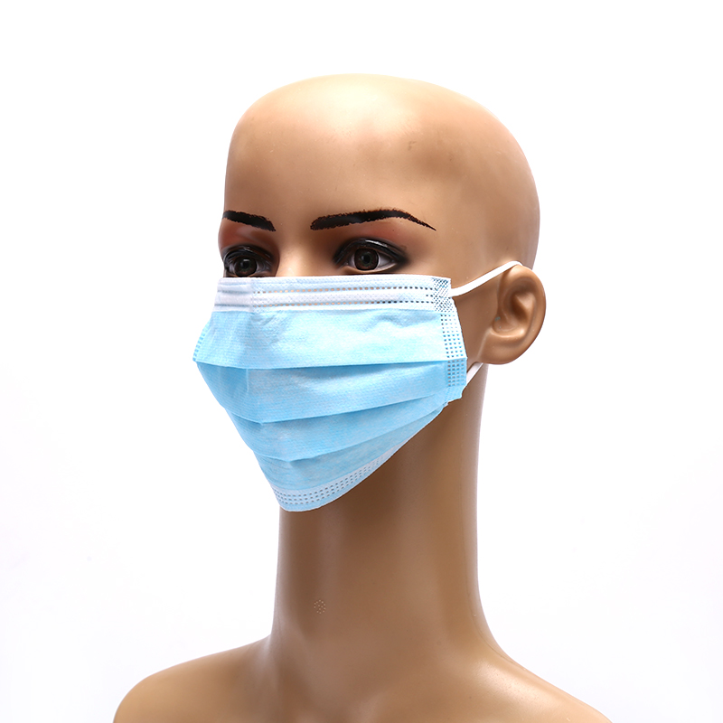 Image 5 - Solid Hypoallergenic Face Mouth Masks Anti dust Safe Breathable  Mouth Mask Disposable Anti Dust Surgical Medical Earloops Masks  -
