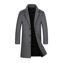 Winter Mens Clothing,Mens Windbreaker,Mens Tweed Coat,Lapel Wool Coat Male,Tweed Male,Windbreaker Male,MensPeacoat