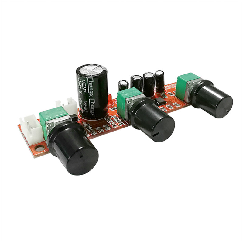 SOTAMIA NE5532 Tone Amplifier Preamplifier LM1036 Volume Control Board AD827 OP-AMP Single Power Preamp Volume Tone EQ Control