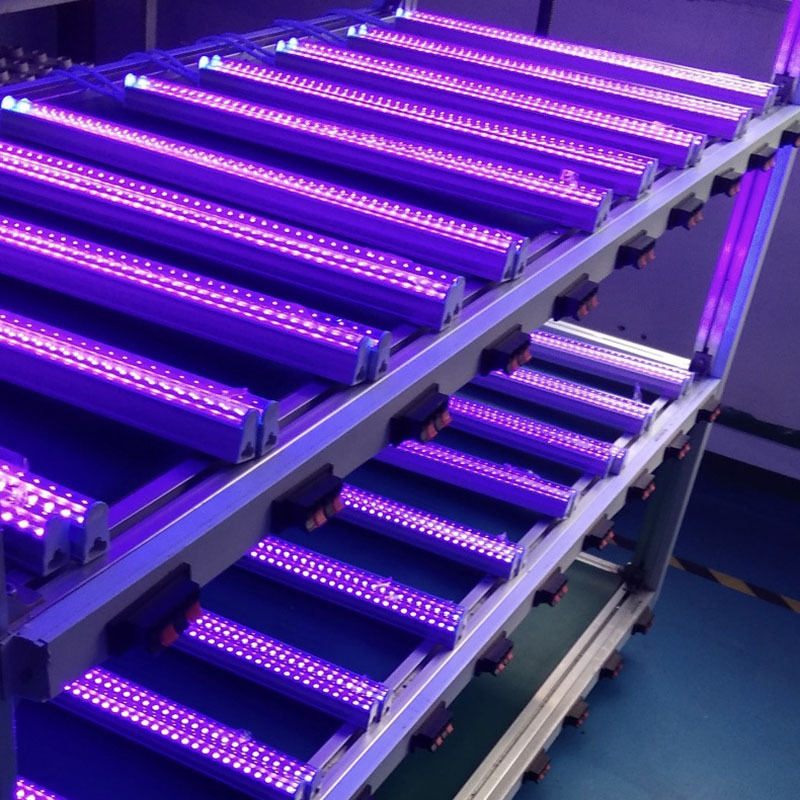 28cm 60cm Ultraviolet Light Tube Mites Sterilization Ozone Germicidal Lights Stage Light UV Light Bar UVC LED Light Bar