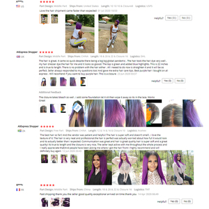 Image 5 - Ombre düz insan saçı demetleri ile kapatma T1B mor brezilyalı saç örgü demetleri Remy kapatma ile 100% insan saç demetleri