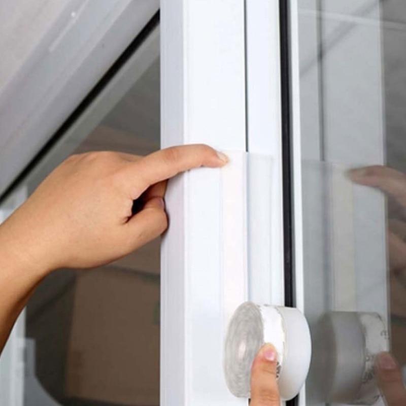 Transparent  Windproof Silicone Door Window Sealing Strip Strip Durable Waterproof Multifunctional _WK