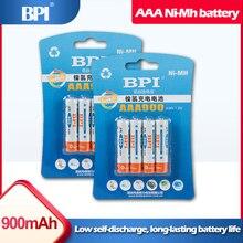 Аккумуляторная батарея для игрушек BPI, 8 шт., 1,2 В, AAA, 900 мА/ч, NiMh, беспроводная мышь для цифровых камер, геймпад, беспроводные телефоны, аккумуля...