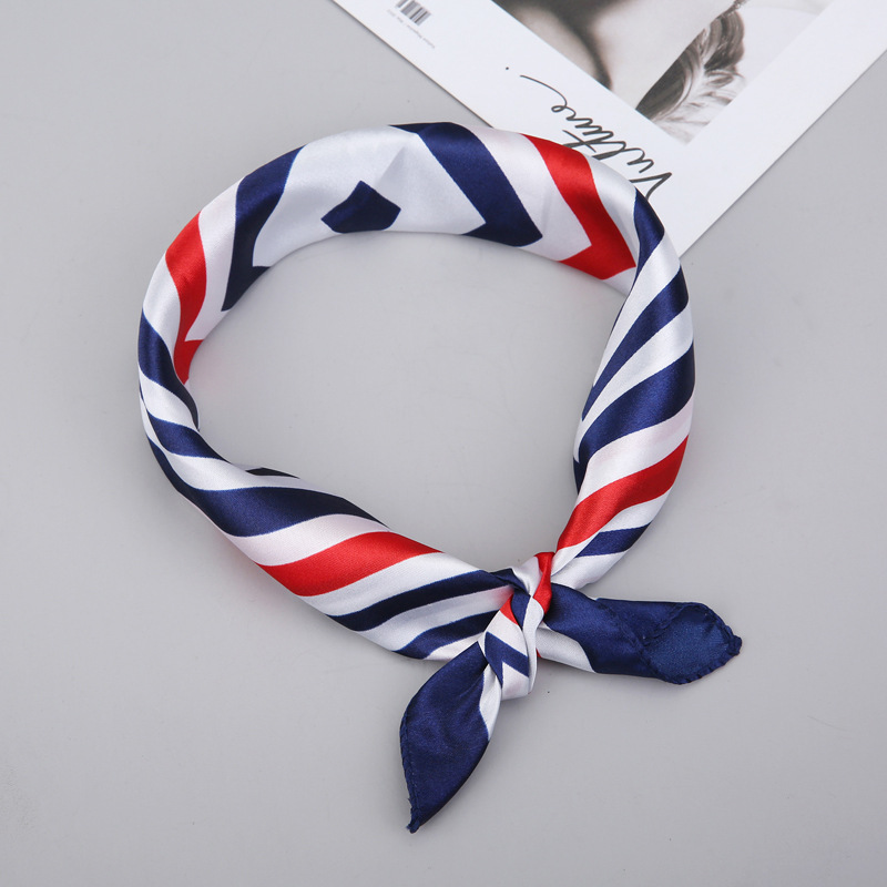 Business Wear Silk Scarf Bank Hotel Stewardess Mobile Overalls Decoration Ladies Changing Print Small Square Scarf Female 2020