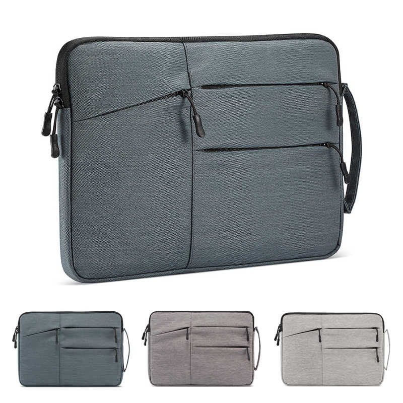 Bolsa para portátil para Macbook Air Pro Retina 11 12 13 14 15 15,6 16 pulgadas funda para portátil funda de tableta PC funda para Xiaomi Air HP Dell
