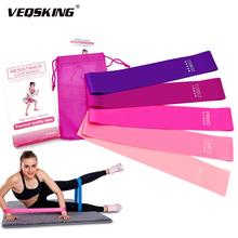 5 sztuk szkolenia taśmy oporowe do ćwiczeń Gum ćwiczenia siłownia siły zespoły Pilates joga Sport opaski gumowe Fitness sprzęt treningowy tanie tanio VEQSKING Unisex CN (pochodzenie) Ciało Ciągnąć liny E81591