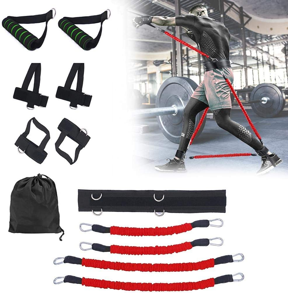 Body Exercise Resistance Band Set Leg Strength Boxing Training Jump Fitness Crossfit Pull Rope Booty Bouncing Trainer Set|Resistance Bands| - AliExpress