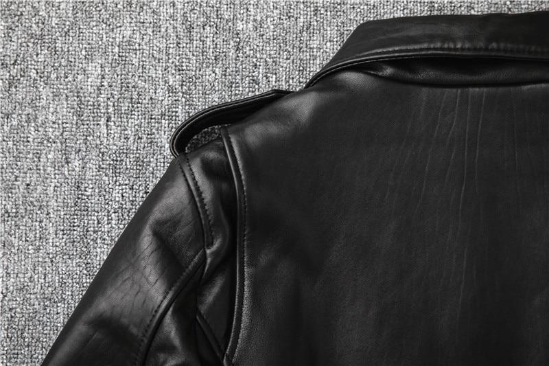 Hc3114e94f6d24059998d67d2c5d14010e Free shipping,Sales!Brand new genuine leather jacket.mens motor biker sheepskin coat.slim plus size jackets.leather outwear