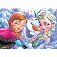 5D DIY Diamond Painting Cartoon Cross Stitch Full Round Diamond Embroidery ice Sister Elsa&Anna Diamond Mosaic Decor Gift