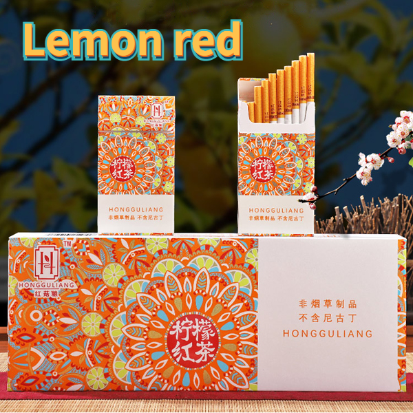 New products, interesting fruit flavors, smoking cessation alternatives, healthy cigarettes, nicotine-free tobacco, fruit tea