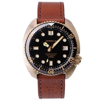 Мужские часы для дайвинга, Мужские автоматические часы HEIMDALLR мужские бронзовые механические наручные часы 300 м водонепроницаемые светящиеся relogio люксовый бренд