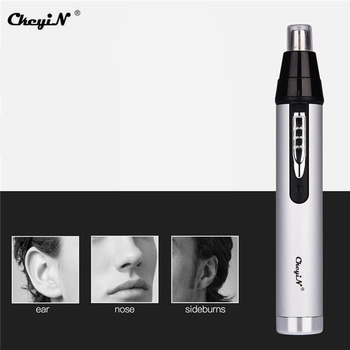 CkeyiN 3 in1 Electric Ear Nose Trimmer Men Shaver Rechargeable Hair Removal Eyebrow Clipper Razor Safe Lasting Face Care Tools