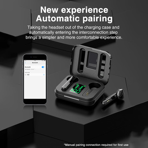 Image 3 - TWS True Wireless Earphone Binaural Stereo Bluetooth 5.0 Earphones Wireless Headphones With LED Display Case for Cellphone