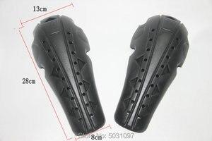 Image 2 - واقيات جينز لركوب الدراجات النارية من Volero مجموعة واقيات للركبة ذات الارتداد البطيء مجموعة واقيات المؤخرة