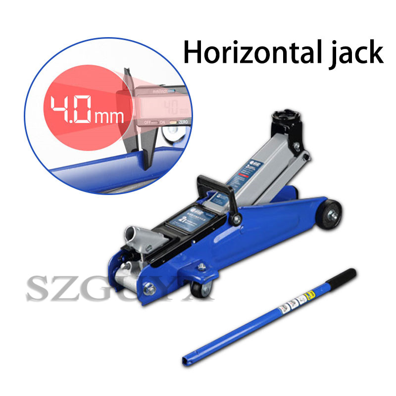 Horizontal Jack 2 Ton/3 Ton Car Jack Vehicle Off-road Vehicle SUV Hydraulic Thousand Gold Top Tire Changing Tool